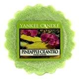 Yankee Candle 1254083E Tartelette en cire parfumée Ananas coriandre, Pinaple Cilandro