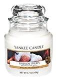Yankee Candle 1254092E Bougie Parfumée en Pot Cheminée Treat Blanc