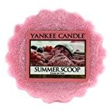 Yankee Candle 1257050E Tartelette en Cire au Parfum de Scoop de L'Été Rose