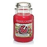 Yankee Candle 1323186 Bougie Rouge Framboise 623 G