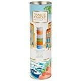 Yankee Candle 1507242 Riviera Coffret Tartelette Parfumée Cire/Combinaison Multicolore 6,7 x 6,5 x 22,3 cm Lot de 12