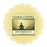 Yankee Candle 1507702E Sérénité Tartelette Parfumée Cire/Combinaison Jaune 5,8 x 5,7 x 2 cm 22 g