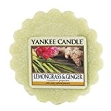 Yankee Candle 1507708E Citronnelle/Gingembre Tartelette Parfumée Cire/Combinaison Vert 6,1 x 5,7 x 2 cm 22 g