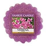 Yankee Candle 1507756E Verveine Tartelette Parfumée Cire/Combinaison Violet 6x 5,5 x 1,7 cm 22 g