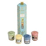 YANKEE CANDLE - 1547737 - COFFRET HAVANA 4 BOUGIES VOTIVES PARFUMEES