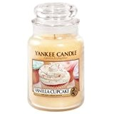 Yankee Candle Bougie Parfumée Cupcake vanille jarre Housewarmer (petite (104 g)