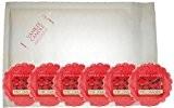 Yankee Candle Bougie parfumée Parfum 6x Simple de tartelettes parfumées en cire fond (Sweet Strawberry)