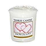 Yankee Candle (Bougie) - Snow In Love - Votive