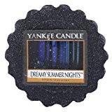 Yankee Candle Bougie tartelette en cire Dreamy Nuits d'Été, noir