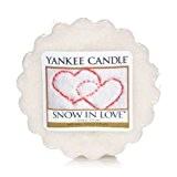 Yankee Candle Lot de 10 tartelettes de cire parfumées Snow in love