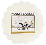 Yankee Candle Tartelette en cire au parfum de vanille Plastique Blanc