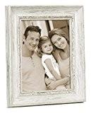Zep DK1723 Adige Collection Basic Cadre Photo Résine Blanc 20 x 30 cm