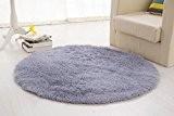 Zone memorecool rond shaggy tapis et moquette Salon/Chambre Home Tapis Super Doux avec un cœur sans ordinateur Tapis de chaise ...