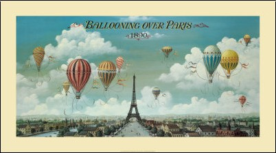 Isiah and Benjamin Lane - Vol en ballon au dessus de Paris