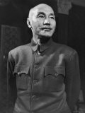 Gen. Chiang Kai Shek during the Kmt Nationalist Party Struggle vs. Mao Tse Tung's Communist Forces - Jack Birns