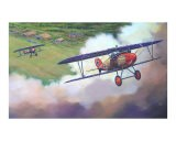 Albatros D-Vs Climbing over Airfield - jack connelly