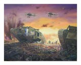 British Tanks Breakthrough on the Western Front - jack connelly