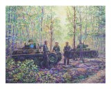 Tanks Waiting in the Forest - jack connelly