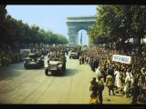 Crowds of French Patriots Line the Champ Elysess - Jack Downey