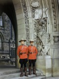 Canadian Mounted Police Guard the Doorway to the Parliament Building - Jack Fletcher