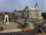 Chateau Laurier Is the Focal Point of Confederation Square - Jack Fletcher