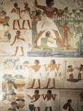 Paintings of Scenes of Everday Life in the Tomb of Nakht - Jack Jackson
