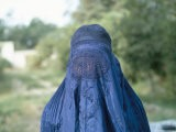 Woman in a Burka, Afghanistan - Jack Jackson