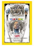 Cover of the October, 1991 Issue of National Geographic Magazine - Jack Unruh