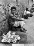 Street Vendor Selling American Cigarettes During Period of Inflation - Jack Wilkes