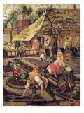 The Spring, Previously Attributed to Pieter Brueghel, the Elder - Jacob Grimmer