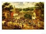 A Village Fair - Jacob I Savery