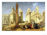 Touring Egyp, The Temple of Karnak at Luxor - Jacob Jacobs
