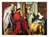 Christ at the House of Martha and Mary of Bethany - Jacob Jordaens
