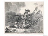 Life Guardsman Charging the Enemy, His Foes Lie Vanquished at His Feet - Jacob