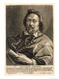 Self Portrait, Engraved by Johannes Meyssens - Jacob The Elder Jordaens