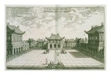Inside the Imperial Palace, from an Account of a Dutch Embassy to China, 1665 - Jacob Van Meurs