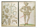 "Suit of Armour for My Lorde Skrope, from ""An Elizabethan Armourer's Album,"" 1589 - Jacobe Halder"