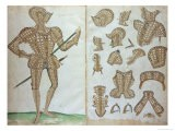 "Suit of Armour for Sir Henry Lee, from ""An Elizabethan Armourer's Album"" - Jacobe Halder"