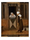 A Conversation in the Street - Jacobus Vrel
