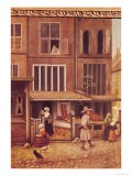 Corner of a Town with a Bakery - Jacobus Vrel