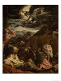 The Annunciation to the Shepherds, c.1557-8 - Jacopo Bassano