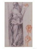 Study for the Figure of St. John the Evangelist - Jacopo da Carucci Pontormo