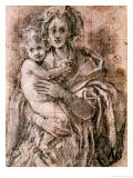 Study for the Virgin and Child with St. Joseph and John the Baptist, 1521-27 - Jacopo da Carucci Pontormo