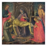 Pieta and Saints - Jacopo Del Sellaio