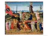 Triumph of Chastity, Inspired by Triumphs by Petrarch - Jacopo Del Sellaio