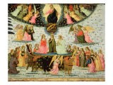 Triumph of Eternity, Inspired by 'Triumphs' by Petrarch - Jacopo Del Sellaio