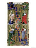 Four Evangelists, 14th Century - Jacopo Di Cione