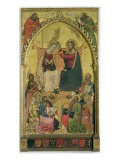 The Coronation of the Virgin with Saints and Prophets, c.1372 - Jacopo Di Cione Orcagna