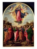 Assumption of the Virgin - Jacopo Palma