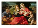The Holy Family, c.1508-12 - Jacopo Palma